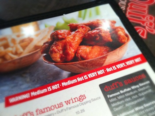 Duffs_menu